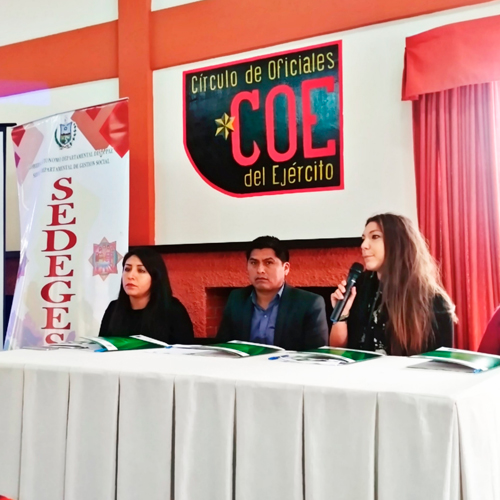 SEDEGES forms community network for adolescents with criminal responsibility